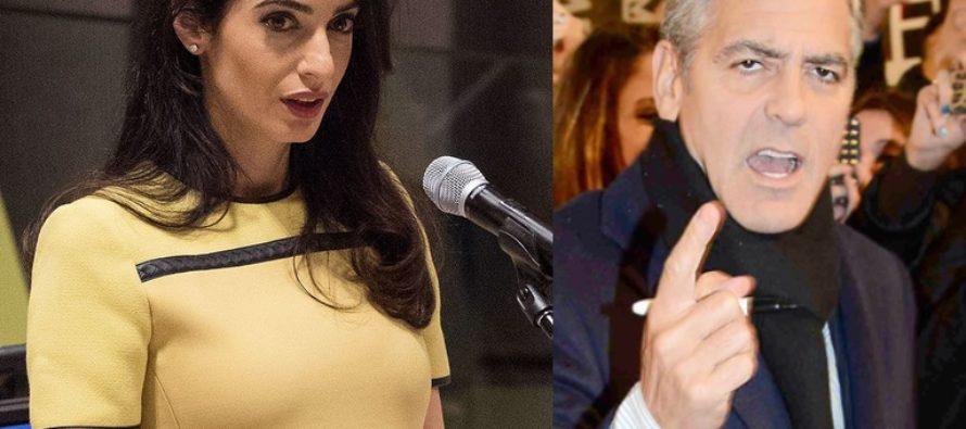 George Clooney's Muslim wife shocks everyone with seven words [VIDEO]