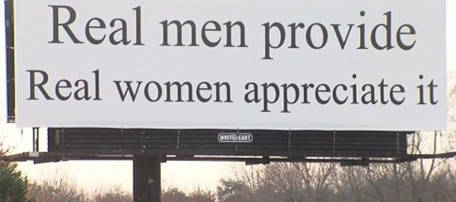 Feminists Get Punked – Controversial Billboard Replaced With New Message