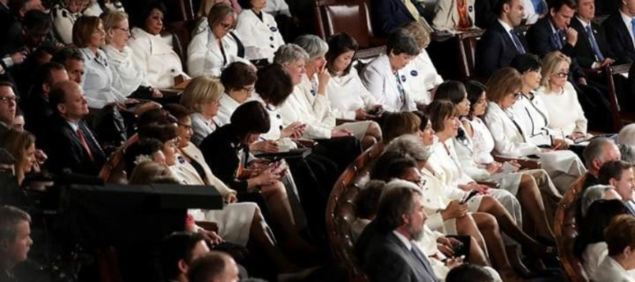 DESPICABLE: Democrats in Audience Caught Disrespecting Wife of Slain Navy SEAL