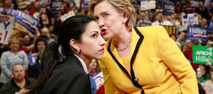 BREAKING: New Huma Abedin Emails REVEALED – Maybe Hillary Should Start Running…