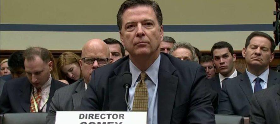 HAPPENING NOW: FBI Director James Comey Testifies Before Congress