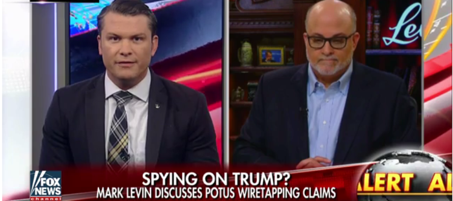 Mark Levin on Trump's Wiretapping Claims: 'The Evidence Is Overwhelming' [VIDEO]