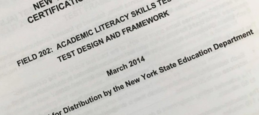NY Dropping Teacher Literacy Test… BECAUSE RACISM!