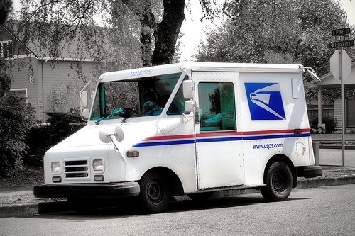 mailman-truck-in-a-hot-mail-truck-F3a8jR-clipart