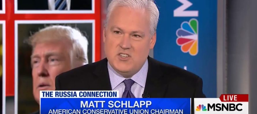 SLAUGHTER! Trump Supporter, Matt Schlapp, Takes MSNBC Host APART In Debate Over AG Sessions and Russia [VIDEO]