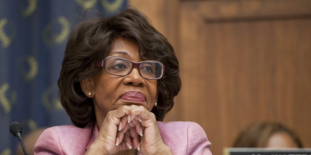 UNITED STATES - SEPTEMBER 24: Rep.Maxine Waters, D-