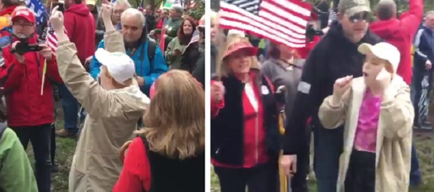 Hilarious liberal shrieking almost beats funny inauguration meltdown [VIDEO]