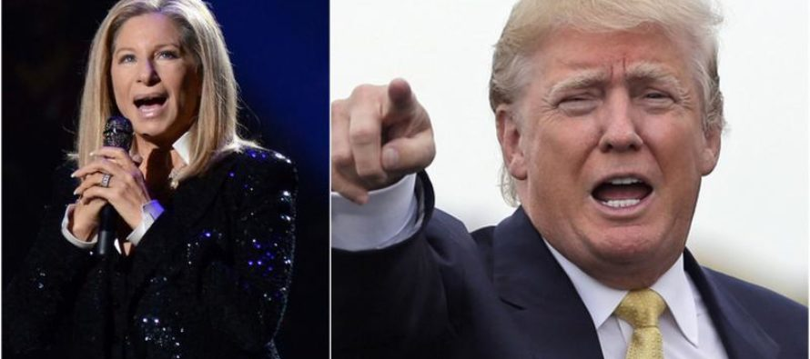 LOL – Barbara Streisand Blames Trump for Getting Fat