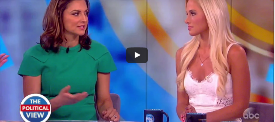 WHAT! Tomi Lahren Goes Up Against Joy Behar And It Results In…Peace!? [VIDEO]