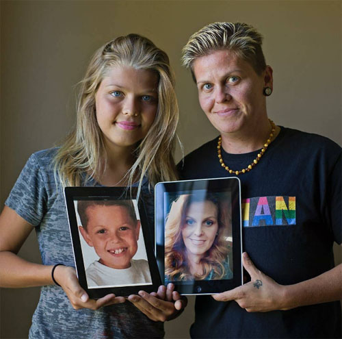 transgender mother son