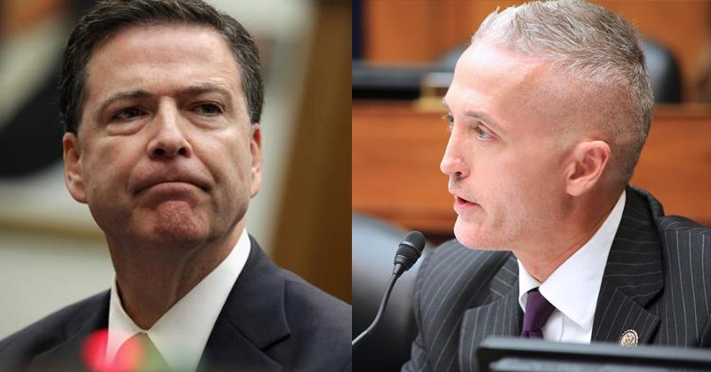 trey gowdy james comey