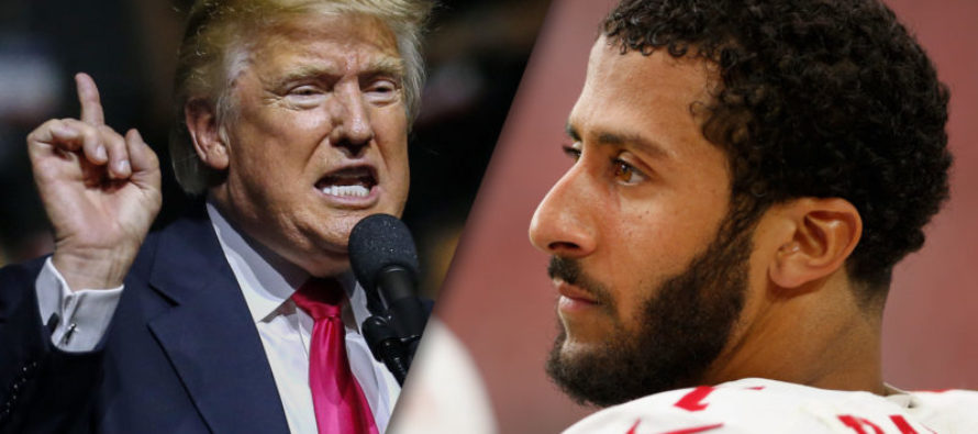 Donald Trump Takes a Jab at Colin Kaepernick… Watch How the Audience Responds!