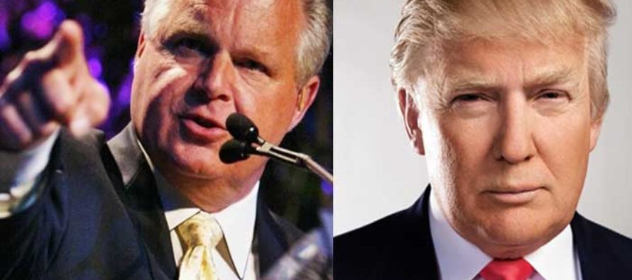 Rush Limbaugh Drops BOMBSHELL – Issues Dire Warning to Trump