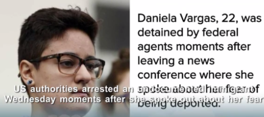 Illegal Immigrant Holds News Conference To Speak On Deportation – Detained By ICE Right After [VIDEO]