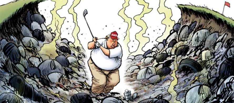 Trump Trap (Cartoon)