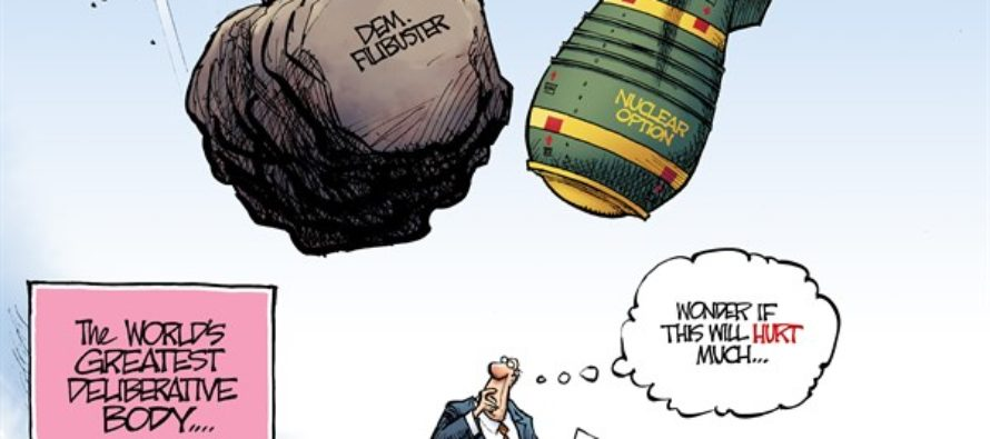 Nuclear Option (Cartoon)