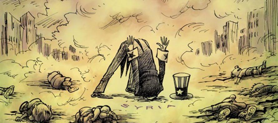 Syria Gas (Cartoon)