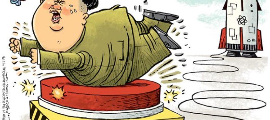 Kim Jong Un Tantrum (Cartoon)