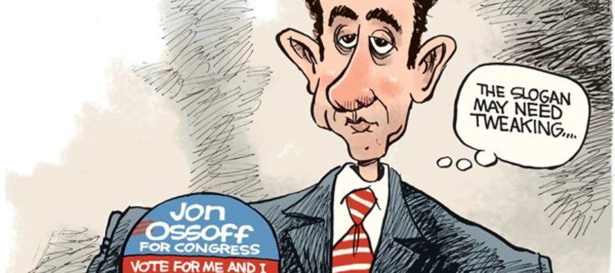 LOCAL Jon Ossoff (Cartoon)