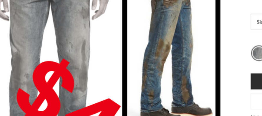 Nordstrom's Selling Jeans That Help Liberals Look Like They Work HARD…