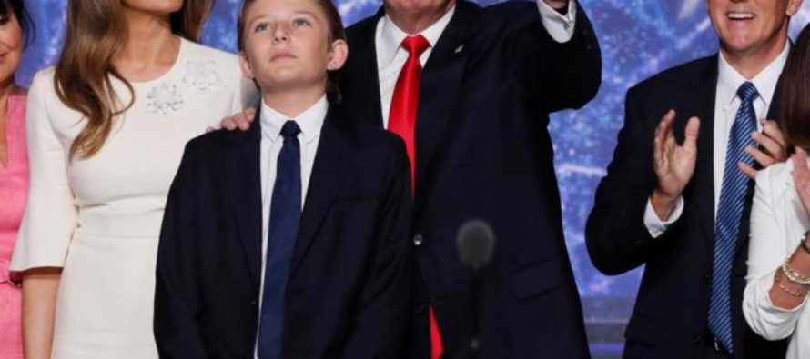 Barron Trump Reveals His Plans For The White  House Once He Moves In – Libs Were WRONG!