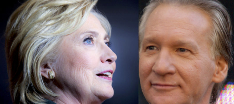Bill Maher absolutely destroys Hillary Clinton with one brutal sentence [VIDEO]