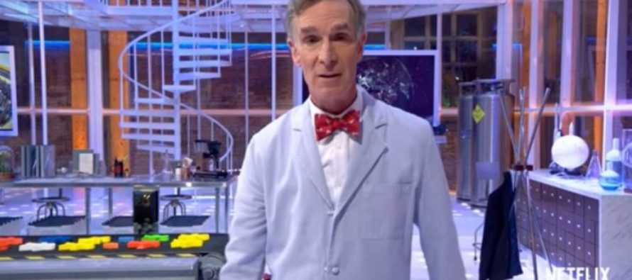 Watch Bill Nye Make a COMPLETE FOOL of Himself on Live TV