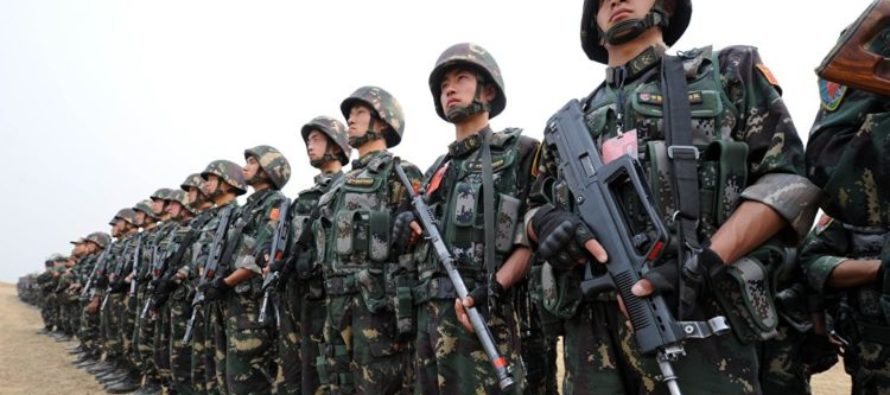 JUST IN: CHINA DEPLOYS TROOPS