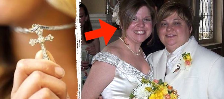 Lesbian Teacher BANS All Crucifix Necklaces From Her Classroom…Now She's In Trouble!