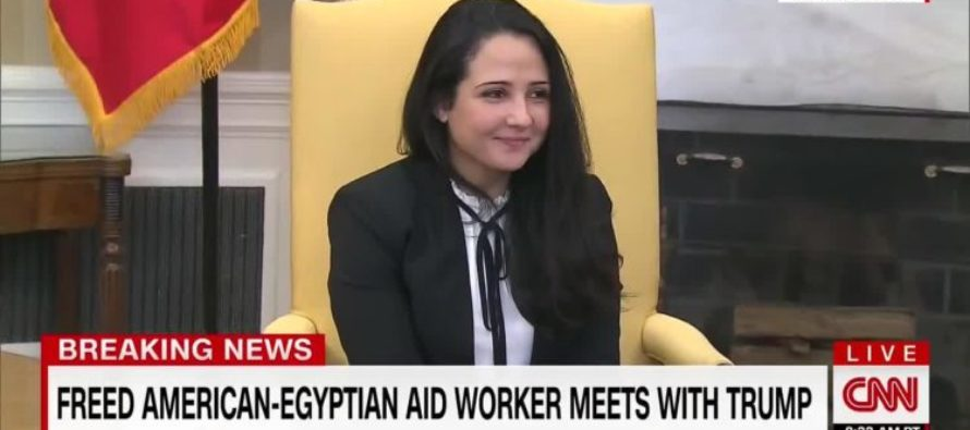 Trump FREES American Wrongly Imprisoned 3 Years In Egypt, But What He Just Did At WH For Her? AMAZING! [VIDEO]
