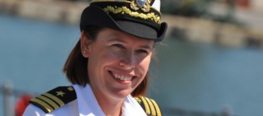 Meet The Badass Female Commander Who Launched The Tomahawks Into Syria