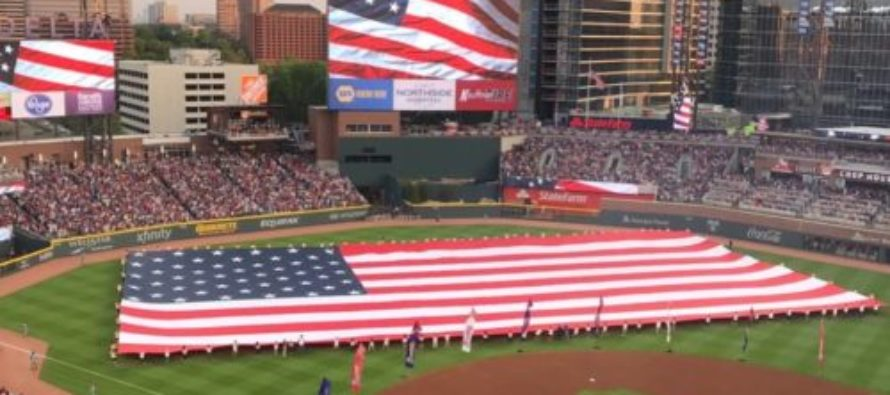 NBC Sports Writer Savaged On Twitter After Claiming American Flag Is Political