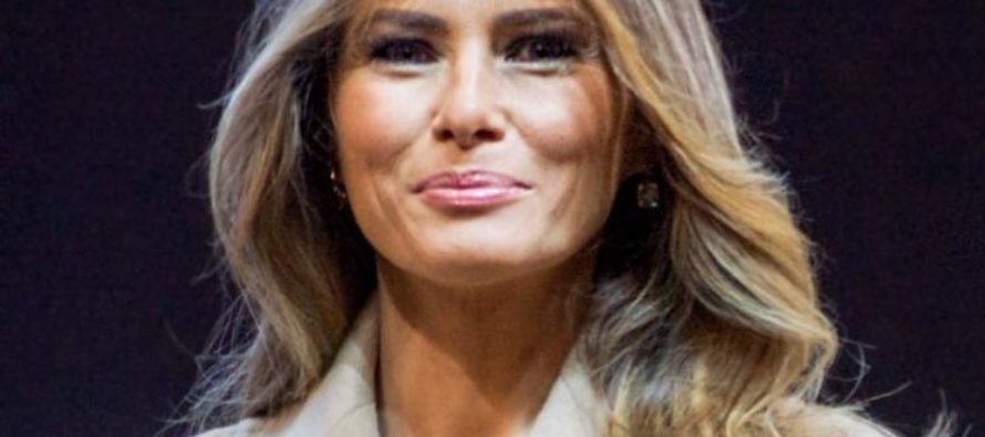 "BOOM! Melania Trump Brings ""FAKE NEWS"" Establishment To Its Knees, Asking For Forgiveness!"