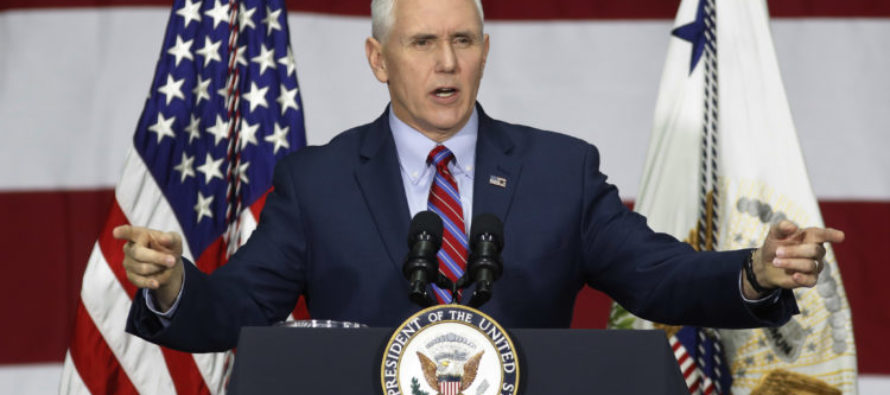 VP Pence Speaks Out On Allegedly Forming Shadow Campaign For Presidential Run In 2020