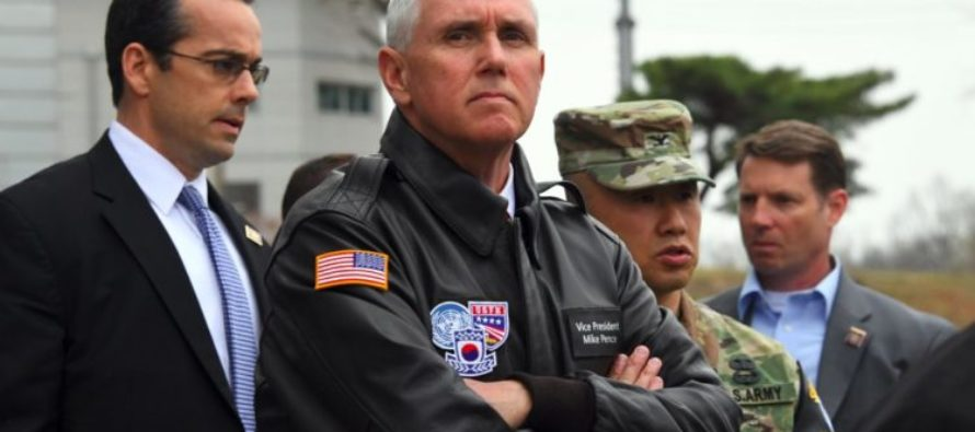 BREAKING NEWS: Mike Pence Issues STERN Warning to N. Korea Amid Nuclear Threats