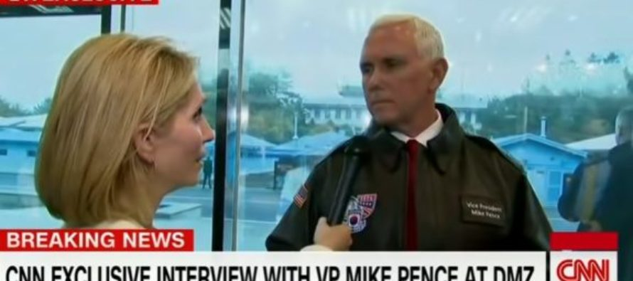 Pence STARES DOWN CNN Reporter After She Questions U.S. Safety Under Trump's Watch – Then She… [VIDEO]