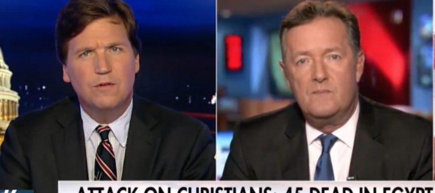 Piers Morgan Drops BOMB on Tucker's Fox News Show – Wow… [VIDEO]