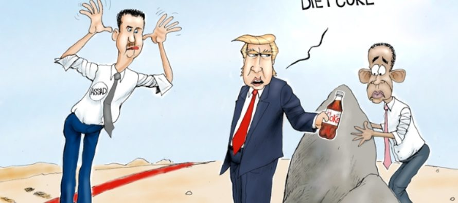Leading From the Front (Cartoon)
