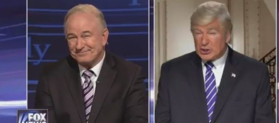 Video: Alec Baldwin portrays President Trump and O'Reilly in controversial SNL skit