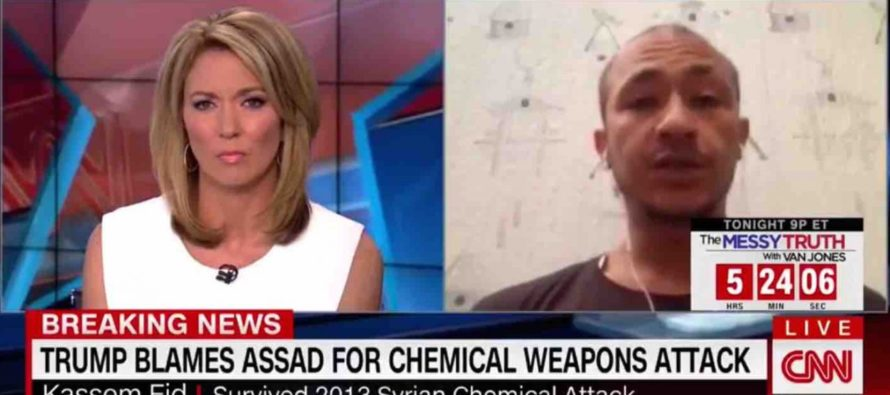 CNN Gets DESTROYED By Truth, As Syrian Chem Attack Survivor ROASTS Obama And Says THIS Of Trump! [VIDEO]