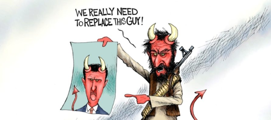 The Devil We know (Cartoon)