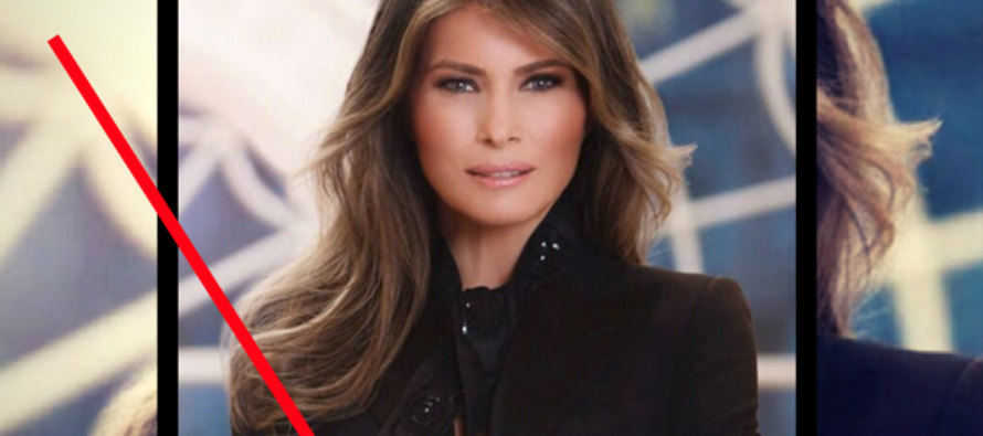 Melania Brutally ATTACKED Over White House Portrait – Then Outfit Designer DESTROYS Her Critics!