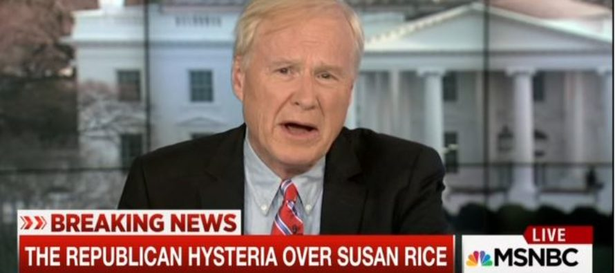 MSNBC Just Put Themselves to SHAME By Offering LAME Explanation of Susan Rice's 'UNMASKING' [VIDEO]
