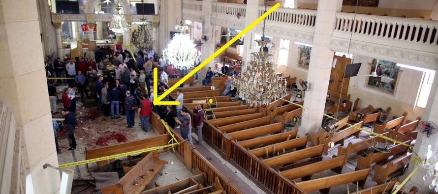 TERROR ATTACK: Two devastating explosions destroy Christian churches on Palm Sunday