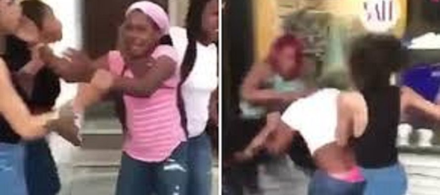Teen Bullies Do The UNSPEAKABLE To A Mother Who Tries To Protect Her Daughter From Them [VIDEO]