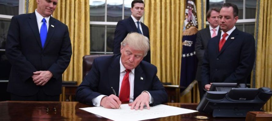 BREAKING: Trump Puts Liberals On NOTICE With New Executive Order – Time To CLEAN HOUSE!