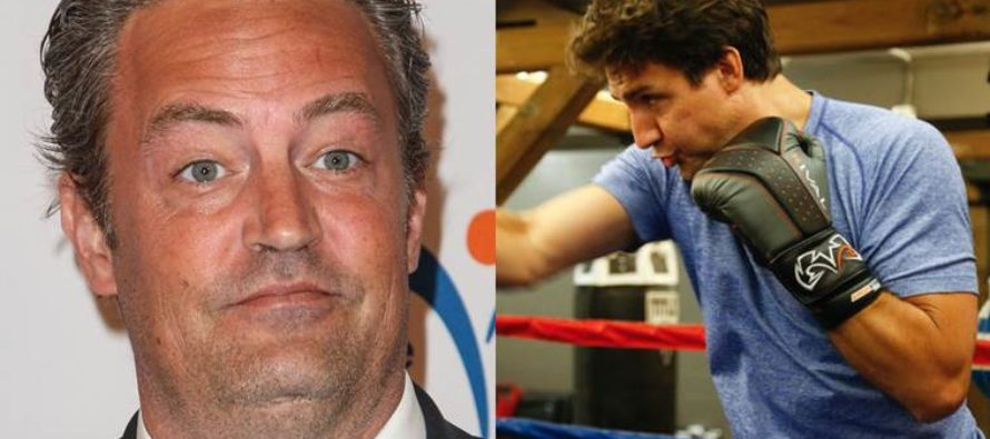 Canada's Golden Boy Trudeau, Just Challenged Matthew Perry To A Fight! Here's Why! [VIDEO]