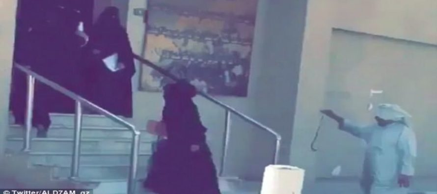 School Guard Uses A Cane And A Snake To Round Up Students – CAUGHT On Video