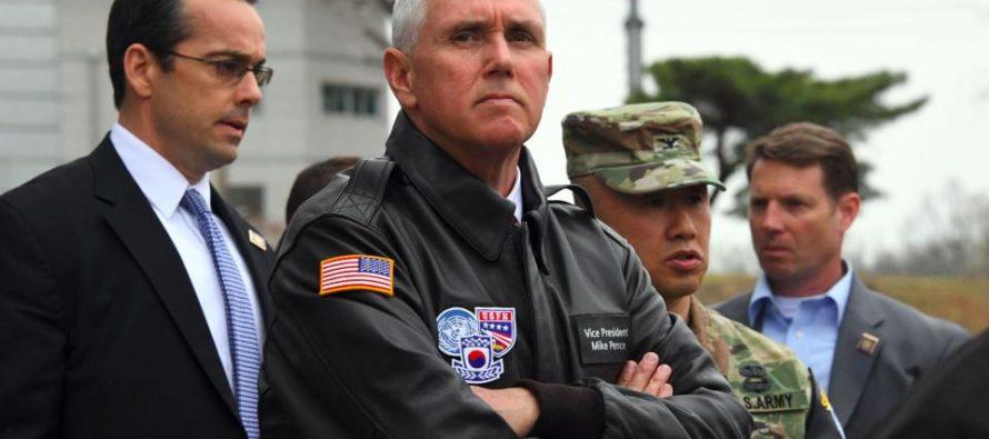 "BOOM! N. Korea Calls Pence A ""GANGSTER"" – Pence's Response? MIC DROP! [VIDEO]"