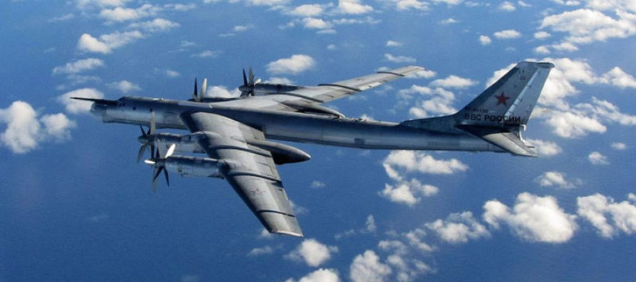 Nuclear Bombers Dangerously Close to US Airspace